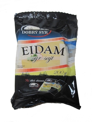 Picture of CHEESE EIDAM 45% 200g GOOD SYR