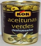Picture of KOK - Green pitted olives 300g
