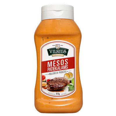 Picture of VILNIUS meat dishes Mayonnaise 500ml (in box 9)