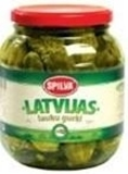 "Picture of SPILVA - Latvian countryside pickled cucumbers ""LAUKU"" 1.03kg (box*6)"