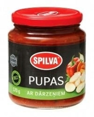 Picture of SPILVA - Beans with Vegetables, 530g (in box 6)