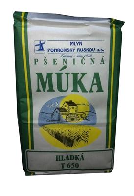 Picture of FLOUR  HLADKÁ PŠENIČNÁ T 650 1kg MLYN POHRONSKÝ RUSKOV (in box 10)