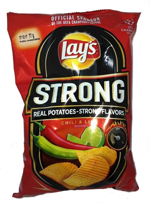 Picture of CRISPS LAY´S STRONG CHILLI A LIME 77g (in box 12)