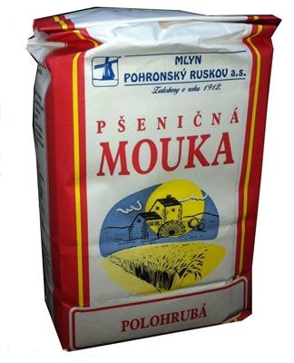 Picture of FLOUR 1kg POLOHRUBÁ VÝBEROVÁ MLYN POHRONSKÝ RUSKOV (in box 10)