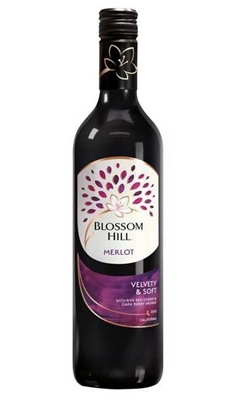 Picture of Wine RED Blossom Hill Merlot 13.5% (in box 6)