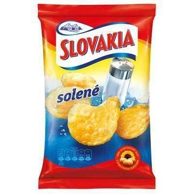 Picture of SLOVAKIA CRISPS SALTED  75g (in box 15)