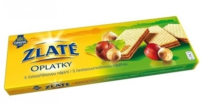 Picture of Gold WAFERS /146G ZLATÉ NUGÁT HAZELNUTS (in box 14)