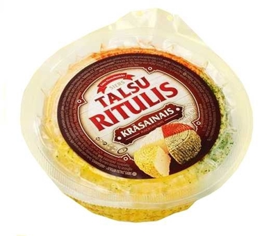 "Picture of Cheese ""Talsu ritulis"" – Colored. 1kg"