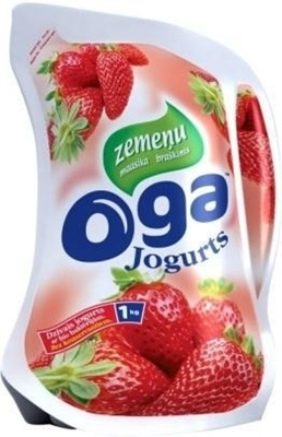 Picture of OGA - strawberry yogurt / Jogurts zemenu 1kg