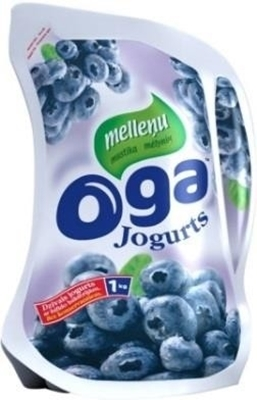 Picture of OGA - blueberry yogurt / Jogurts mellenu 1kg