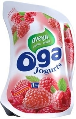 Picture of OGA - raspberry yogurt / Jogurts avenu 1 kg