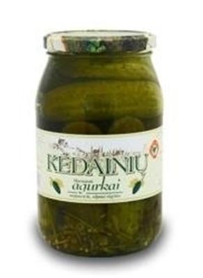 Picture of KKF - Pickled Cucumbers KEDAINIU 0,880g