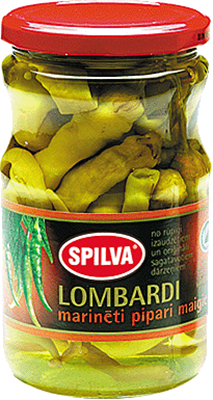 Picture of SPILVA - Pickled Lombardi Peppers Mild 720ml