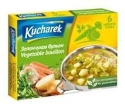 Picture of KUCHAREK - Darzenu buljons 60g (box*24)