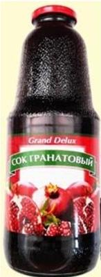 Picture of GRAND DE LUX – Pomegranate juice 1l (in box 8)