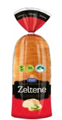 Picture of LATVIJAS MAIZNIEKS - Zeltene sweet white bread 350g (box*10)