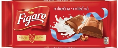 Picture of MILK CHOCOLATE 90g FIGARO (in box 23)