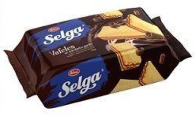 Picture of LAIMA - SELGA wafers with chocolate taste 180g