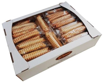 Picture of LATSWEETS - Waffles with marshmallow and condensed milk (box*2,5kg) £/kg