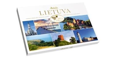 Picture of LAIMA - Dark chocolate assortment LAIMA 360 g /Lietuva/ (box*12)