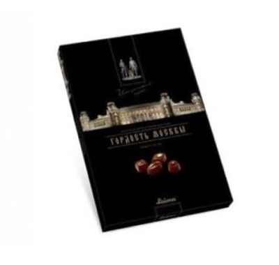 Picture of LAIMA - Dark chocolate assortment LAIMA 360g /Tsaritsyno_Pride of Moscow/ (box*12)