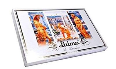 Picture of LAIMA - Dark chocolate assortment LAIMA 360g /S-Peterburg/ (box*12)