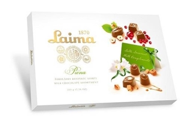 Picture of LAIMA - Milk chocolate assortment LAIMA 360g (box*12)