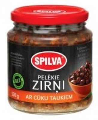 Picture of SPILVA - Grey Peas with Pork Fat 580ml (box*6)