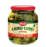 Picture of SPILVA - Cucumbers Countryside Taste Sweet and Sour 1060ml (box: 6)