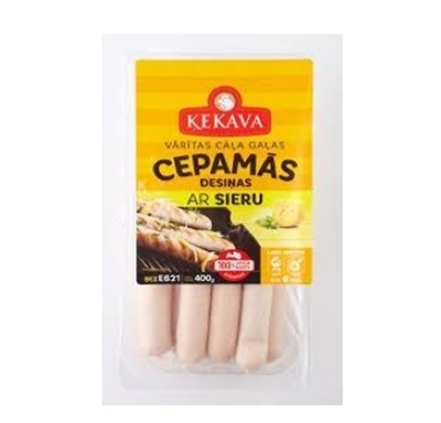 Picture of Kekava - frying sausages with cheese 400g