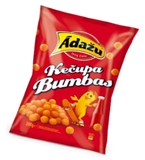 "Picture of ADAZU - Corn snacks ""Ketchup balls"", 200g  (in box 15)"