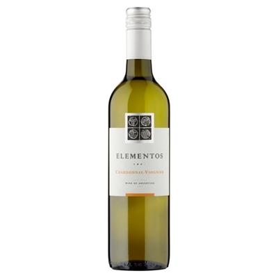 Picture of White Wine Chardonnay Viognier, Elementos (in box 6)