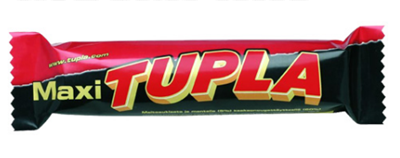 "Picture of Cloetta - Tupla ""King Size"" milk chocolate with  almonds and cocoa nougat filling, 85g (in box 42)"