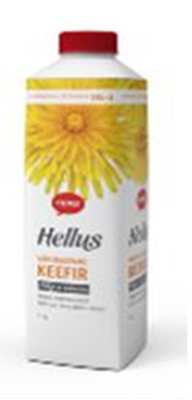 """Picture of TERE - """"Hellus"""" kefir 2.5%, 1L (box*10)"""