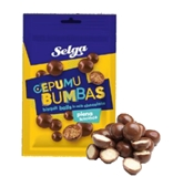 Picture of Selga - Biscuit balls in milk chocolate, 120g (in box 18)