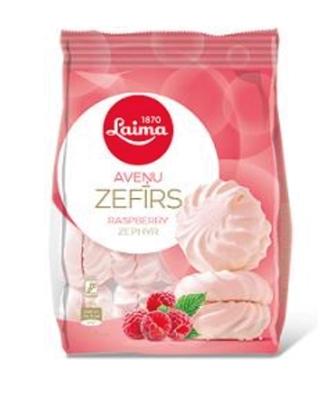 Picture of LAIMA - Raspberry zephyr/marshmallow 200g (In box 12)