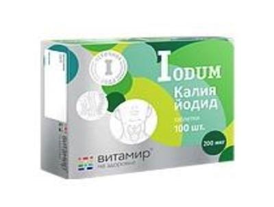 Picture of Vitamir - Potassium oidide 200mcg (100 tabs)