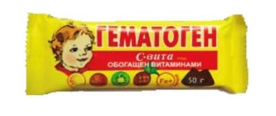 Picture of Vitamir - Gematogen with vitamins, 50g (In box 20)