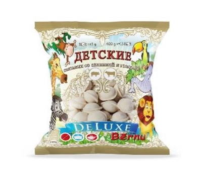 """Picture of SALAS ZIVS - Kids dumplings """"Deluxe"""" with pork and beef 400g (In box 25)"""