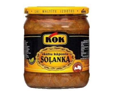 Picture of KOK - Solyanka with cabbage (fsk. kāpostu) 480g (in box 8)
