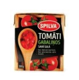 Picture of SPILVA - Chopped tomatoes in own juice, 390g (Box*12)