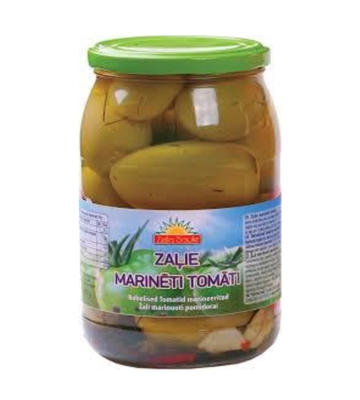 Picture of ZELTA SAULE - Green tomatoes in marinade 900ml (box*8)