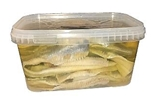 Picture of KIMSS UN KO - Herring fillets in oil, 2.5kg pack / price kg