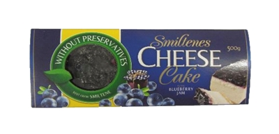 Picture of Smiltenes piens - Cheese cake with blueberry, 500g (box*4)