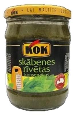 Picture of KOK - Sorrel, 470g (box*8)
