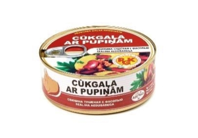 Picture of RGK - Pork with beans, 250g (Box*48)