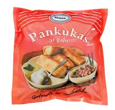 Picture of DAERS - Pancakes with meat, 500g (box*10)