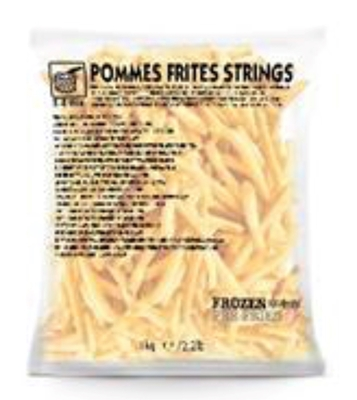 """Picture of Farm Frites - Fries """"Blanko"""", 1kg (box*10)"""