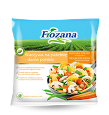 """Picture of Frozana - Vegetables Stir-Fry """"Italian Dish"""", 400g (box*12)"""