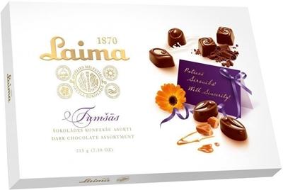 Picture of LAIMA - Dark chocolate assortment LAIMA, 215g